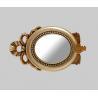 high end golden bathroom mirror,home decor wall mirror for sale