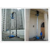 Wholesale Office Buildings Personnel Lift Platform , 160kg Rated Load Electric Ladder Lift from china suppliers