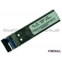 China BIDI Long Haul SFP Optical Transceiver LC Single Mode Fiber 1.25G 80KM for sale