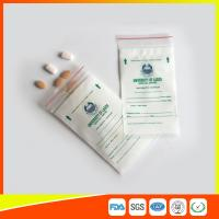 Wholesale LDPE Clear Medical Ziplock Pill Bags For Hospital / Drugstore Disposable from china suppliers