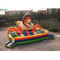 Wholesale Custom Outdoor Huge Super Lion Inflatable Games Playground For Kids from china suppliers