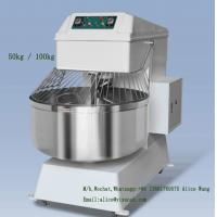 Wholesale Safe Industrial Bread Mixer 100kg Bread Dough Mixer Machine Low Voltage Protection from china suppliers
