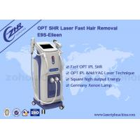 Wholesale 1200w E - Light Ipl Shr Hair Removal Machine For Skin Rejuvenation from china suppliers