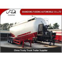 Wholesale V / W Type 30 Ton To 80 Ton Cement Silo Trailer/ 3 Axles Bulk Tank Truck from china suppliers