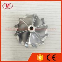 China RHF5 44.20/58.00mm 6+6 Blades high performance billet turbo compressor wheel for 4.0 TFSI on sale