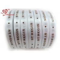 31mm Exclusive Custom Printed Ribbon Silkscreen Technics single sided satin ribbon for sale
