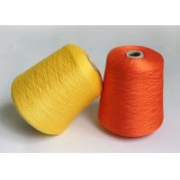 Wholesale 80S / 2 Combed Gassed Mercerised Cotton Yarn For Knitting , Golden Colour from china suppliers