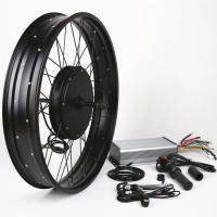 China Convenient Operation Electric Mountain Bike Conversion Kit Waterproof Connection on sale