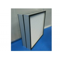 Buy cheap H12-H14 Mini Pleat HEPA Filter For Food And Beverage Industry Clean Room from wholesalers