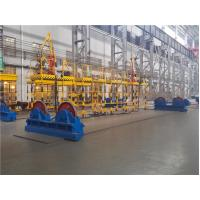 Self - Aligned Welding Turning Rolls 1600 Tons for Cylinder Steel Pipe