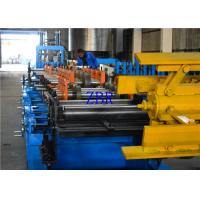 Steel Plate 350MM C Z Purlin Roll Forming Machine 195 Mpa - 350 Mpa Work Pressure