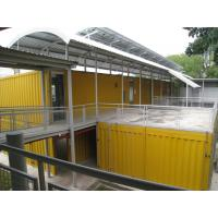 Galvanized Steel Structure Portable Commercial Buildings - Flatpack, Modular for sale