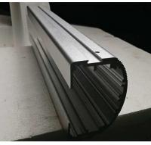 China Aluminium profile for led China silver anodized 6063 T5 aluminium extrusion price per kg on sale