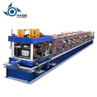 China Automatic Touch Screen CZ Purlin Roll Forming Machine For Galvanized Metal Steel Sheet on sale