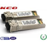 20KM 10GB Single Mode Simplex LC Connector SFP Fiber Optic Transceiver With DDM for sale
