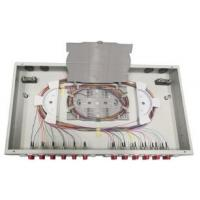 Wholesale Cold Roll Steel Fixed Type Fiber Optic Termination Panel 1U 24 Fibers ABS Plastic from china suppliers