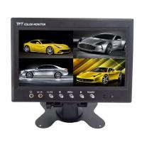 Wholesale 12V TFT Car LCD Monitor Split Screen ,  7 Inch Rearview Mirror Monitor from china suppliers