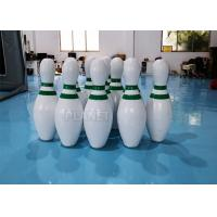 Wholesale CE PVC Tarpaulins Inflatable Bowling Pins Set Game With Zorb Ball from china suppliers