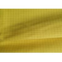 TC Polycotton Anti Static Fabric 3/1 Twill Conductive Fabric SGS Certified for sale
