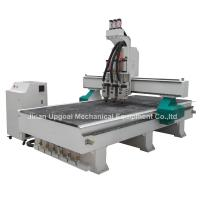 3 Spindles Auto Tool Changer ATC Furniture Wood Relief CNC Machine