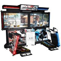 China 110V / 220V Time Crisis 5 Arcade Machine , Large Shooting Video Slot Machines on sale