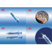 Wholesale Single Loss Of Resistance latex free Syringe With Luer Slip / Luer Lock from china suppliers