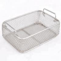 Stainless Steel Wire Mesh Baskets For Surgical Instrument Sterilization