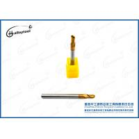 Wholesale R1.5×50×D4×6×2F Tungsten Solid Carbide Ball Nose End Mills For Drilling from china suppliers