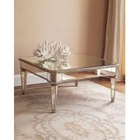 Wholesale Hot selling square mirrored coffee table living room furniture from china suppliers