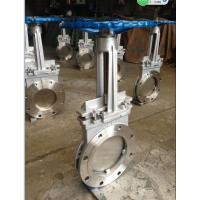 """Wholesale SS316 8"""" Cast Steel Gate Valve for paper pulp , sewage DN50 ~ DN 2000 from china suppliers"""