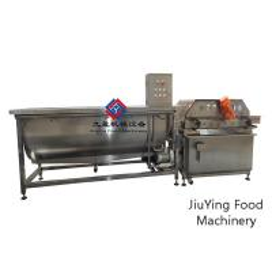 China 220V Bubble Leafy Vegetable Fruit Washing Machine High Efficiency on sale
