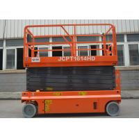 Wholesale Construction Self Propelled Hydraulic Scissor Lift With Lifting Height 3 - 16m from china suppliers