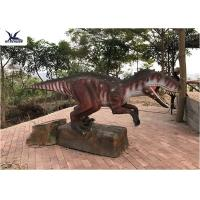 Artificial Custom Dinosaur Garden Statue For Jurassic World Decoration