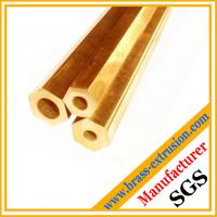 Wholesale brass hexagon hollow rod from china suppliers