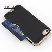 Wholesale Shockproof Rugged Hard PC/TPU Mobile Protective Cover with Card holder wallet cell phone accessories from china suppliers