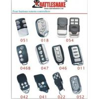 Wholesale 4 button with Car Alarm Remote controllers , 75m - 100m distance, 433Mhz from china suppliers