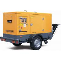 Wholesale 4 stroke three phase Compact trailer mounted 80KW / 100KVA Silent Diesel Generator Set from china suppliers