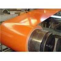 Wholesale Orange Color Pre Painted Galvanized Coils For Prefabricated House Warehouse from china suppliers