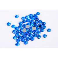 Wholesale Small Loose Octagon Heat Fix Rhinestones 1.5mm - 10mm With Even Facets from china suppliers