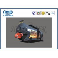Wholesale Automatic Horizontal Gas Fired Hot Water Boiler , High Pressure Steam Boiler ISO9001 from china suppliers