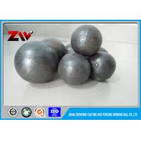 Wholesale HRC 60-68 Sag Mill Grinding Balls for mining 45# 60Mn B2 and Cr 1 - 20 from china suppliers