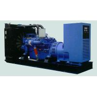 China Prime Power 500KW Diesel Generator Set , Open Type Diesel Engine Generator Set for sale