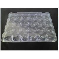 Lightweight Eco Friendly Clear Plastic Egg Cartons 24 Cavities ISO9001 Approval for sale