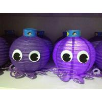 Wholesale Octopus Paper Lantern for Children Toys Hanging Indoor Or Outdoor from china suppliers