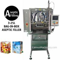 Best 3-25L Single-head BIB Aseptic Filler for Sterile Products Bag in Box Aseptic Filling Machi wholesale