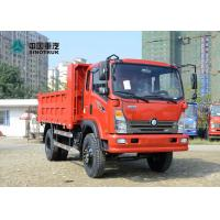 SINOTRUK Wangpai Light Dump Truck CDW3120A3R4 10 Tons Loading Capacity for sale