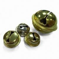 Wholesale L-shaped Jingle Bell with Nickel or Brass-plated Finish from china suppliers