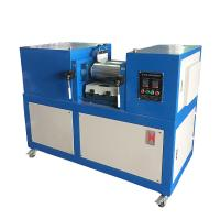 Wholesale Multiple Touch Rubber / Plastic Two Roll Mill , Lab Open Mixing Mill from china suppliers