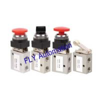 3/2 way Shako Mechanical Pneumatic Manual Valves 1/4,JM-05,JM-06,JM-06A,JM-07 for sale