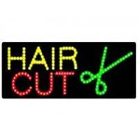 Wholesale Beauty Custom Hair Cut Sign Board (HSH0012) from china suppliers